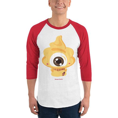 Niexee Family 3/4 sleeve raglan shirt