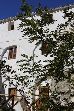 El Molino del Conde: Back of the Mill building