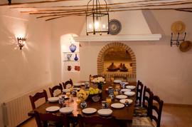 El Molino del Conde: Breakfast in the Old Bakery kitchen
