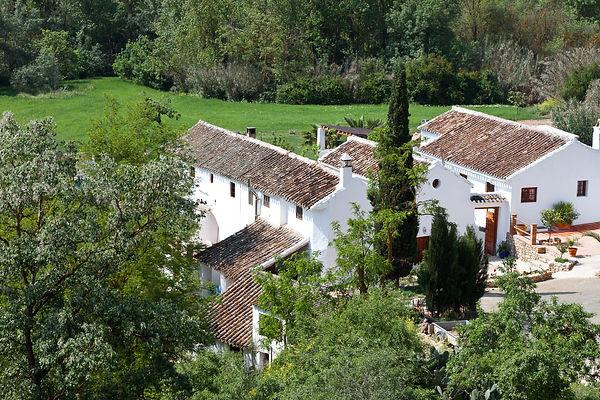 El Molino del Conde. Rent a large country villa in Spain