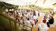 Wedding reception, catering, El Molino del Conde, Spain