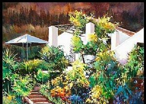 El Molino del Conde gardens
