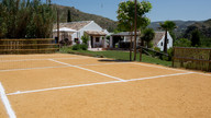 The sports court