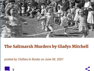 Celebrating Gladys Mitchell at the Clothes in Books website!