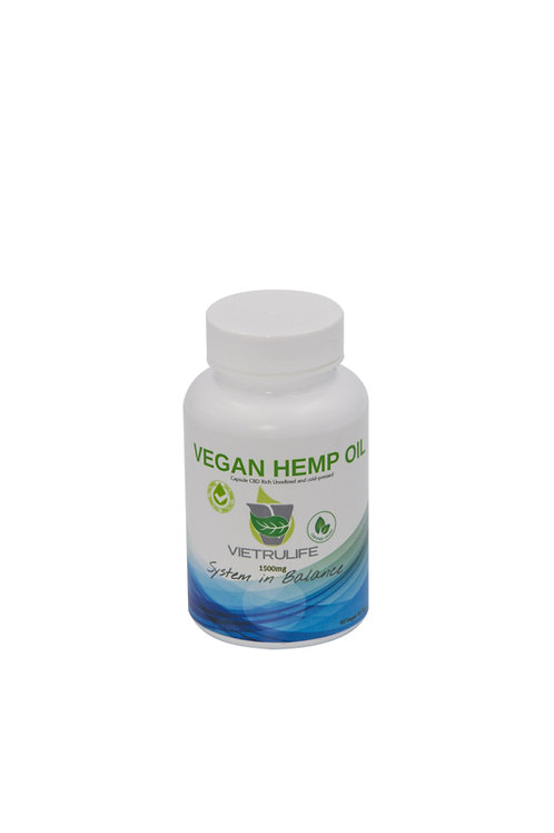 Vegan Hemp Oil Pill