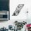 Thumbnail: Decoração de parede Quatro elementos triangulo - MDF 3mm