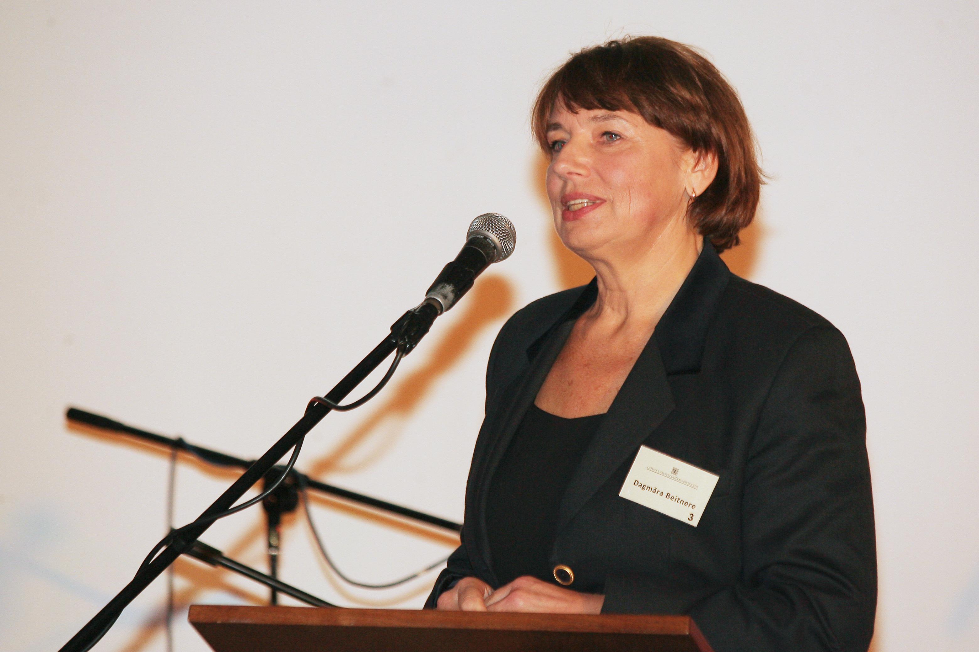 Dagmāra Beitnere