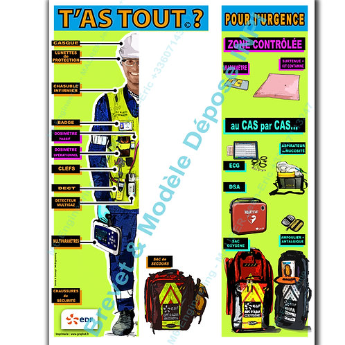T'as Tout? personnel infirmier -intervention Risques vitaux -B