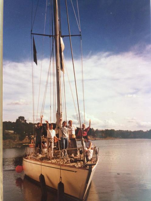 Linda reis 1989 aastal Pärnu - Stockholm - Marienhamina - Vaasa - Pärnu