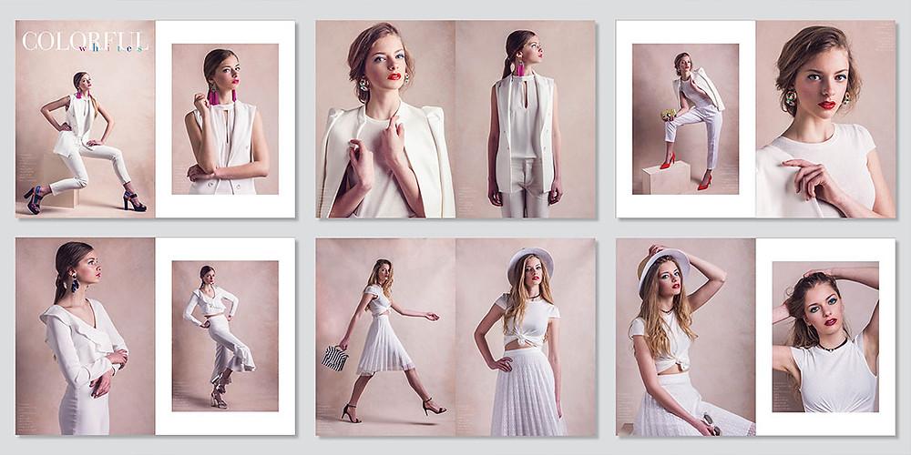 colorful whites, fotózás, divat, jouca portraits