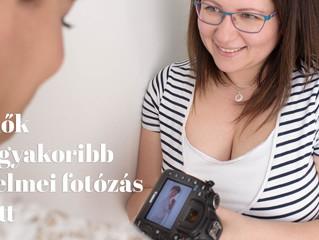 A nők leggyakoribb félelmei a fotózás előtt és a megoldás