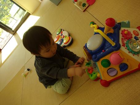 4月のちゅーりっぷ組の様子(4月21日)