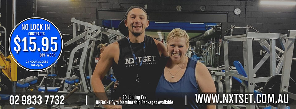 JOIN NXTSET GYM