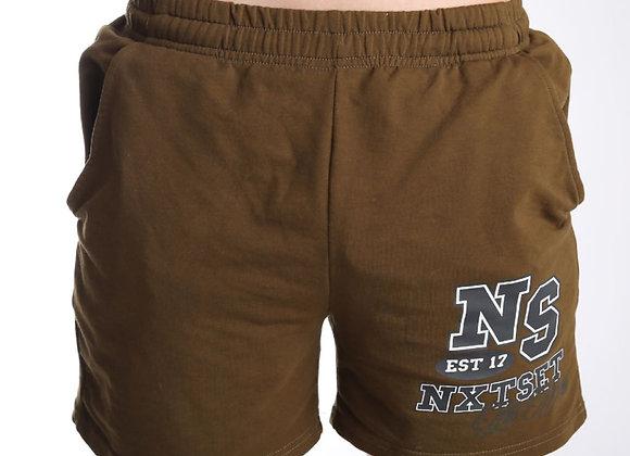NXTSET Shorts - Khaki \ Black