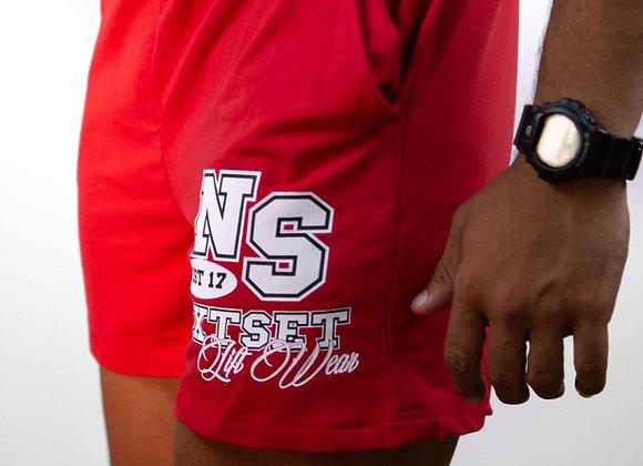 NXTSET Shorts - Red / White