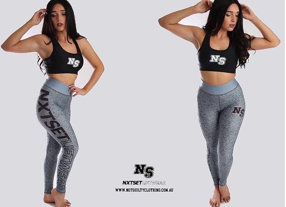 NXTSET Full Length Tights - Grey
