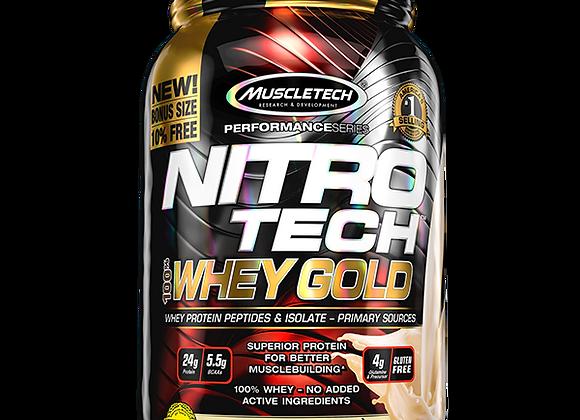 Muscletech Nitro Tech 100% Whey Gold 2.2lb