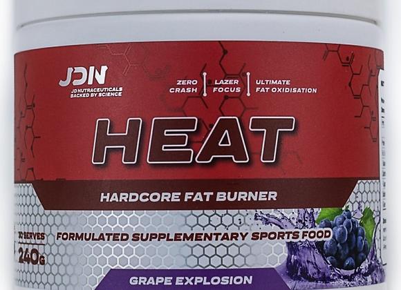 JDN Heat Hardcore Fat Burner 240g