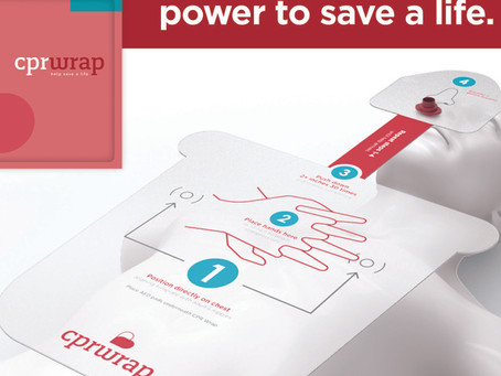 CPR WRAP ALLOWS ANYONE TO BE A LIFESAVER