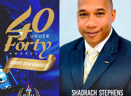 Re.engineer Shadrach Stephens Receives 40 Under Forty Recognition from Southern University Alumni