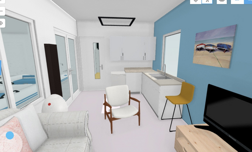 Potential Boathouse interior with Crew Room