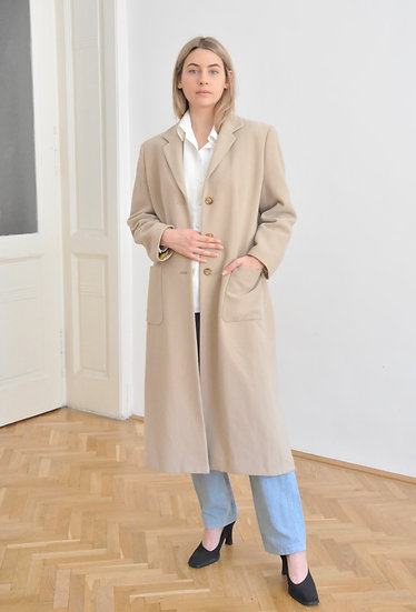 Basic cream coat - M/L