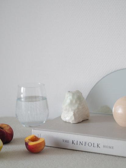 Porcelain vase by Krisztina Serra