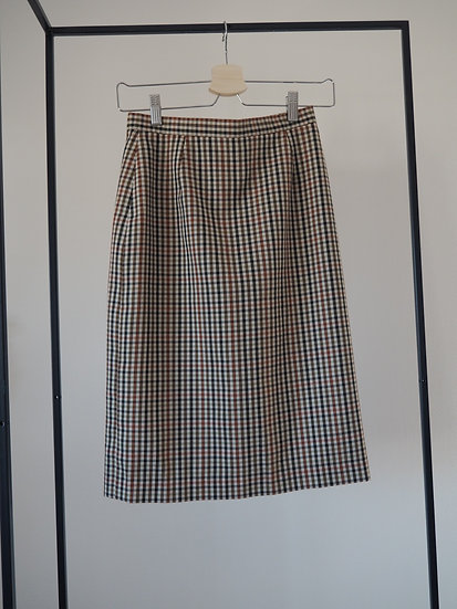 Checked pencil skirt // size XS or 34