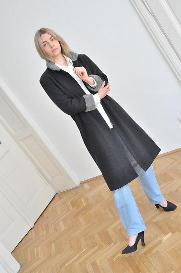 Wool blend coat / xs-s