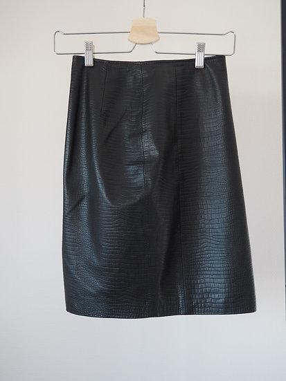 Ralph Lauren leather skirt // xxs-xs, 32-34