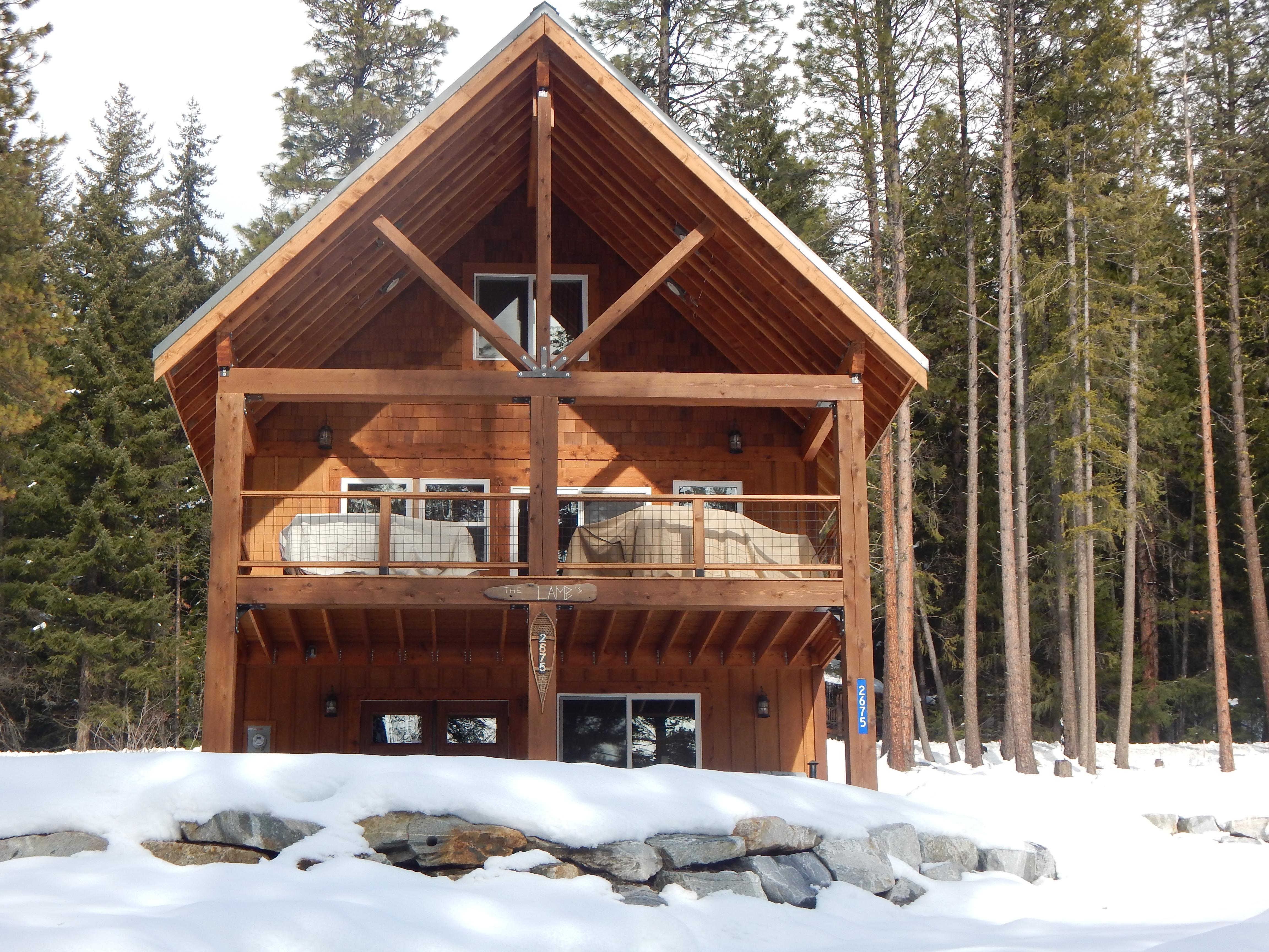 Winter at Lamb's Lodge