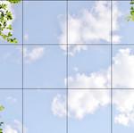 Himmel mit Laub 41105, 12er Set 3x4