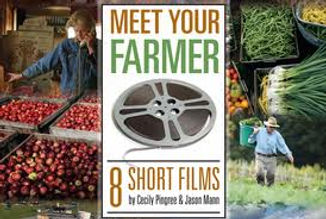 Meet Your Farmer film poster with farmers working