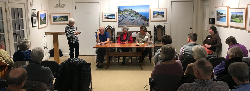 Healthy Peninsula expert panel with audience