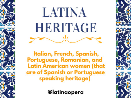 What is Latina Heritage?