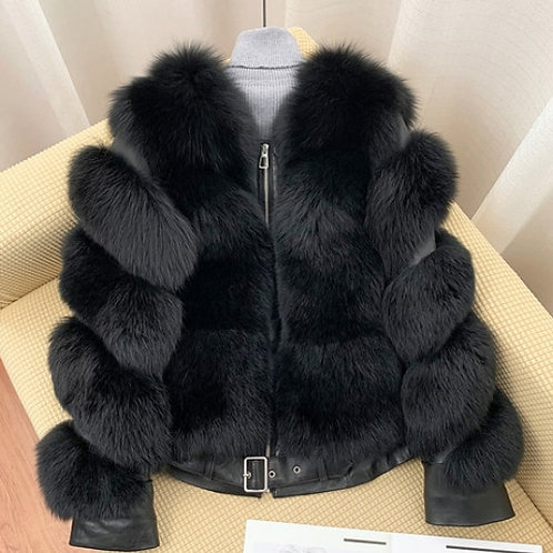 """Luxury Fur Coat. The Divina Collection, in """"Notte"""""""