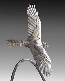 fabricated bronze sculpture