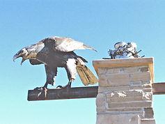 Welded steel Bald eagle