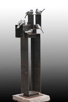 welded sculpture Parker McDonald