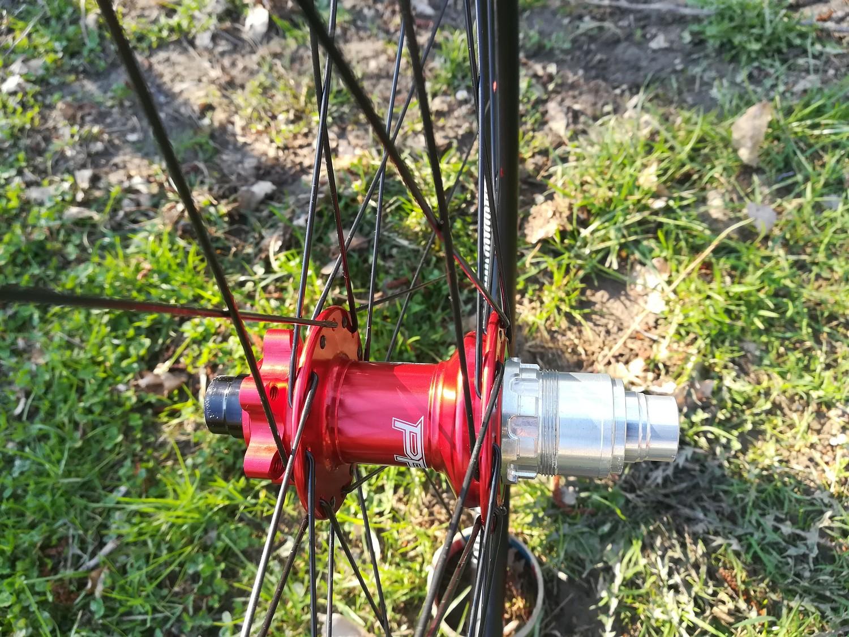 DT R500 Hope Pro4 red Sapim D-Light