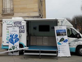 Un Aquabus itinérant pour informer et sensibiliser sur la thématique de l'eau