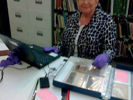Paintings, Catalogues and Secol Sleeves: Volunteering with the Grundy Collections