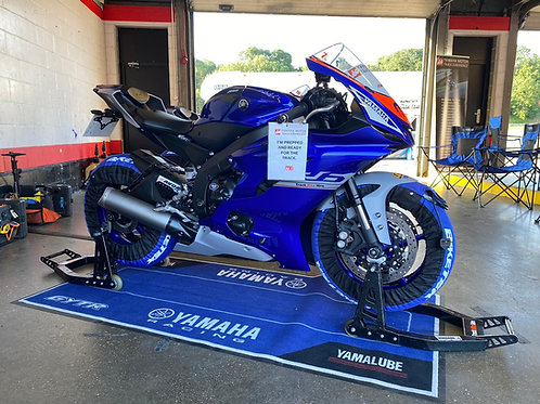 Paddock Stands and Tyre Warmer hire package Donington Park 18th June