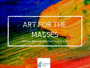 ART FOR THE MASSES