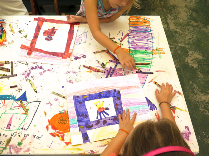 Summer 'Scapes Art Camp at Longue Vue House and Gardens: Week 1