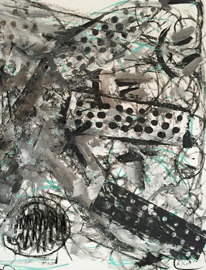 Abstract Paintings Inspired by Jacqueline Humphries