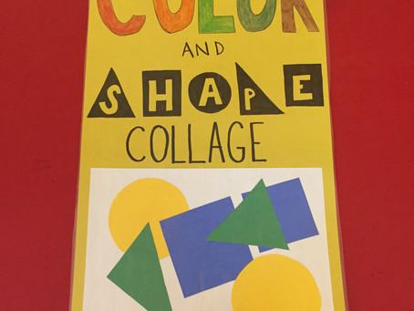 Kindergarten - Colors, Shapes, Cut, & Glue