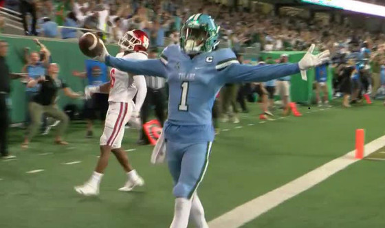 Jags WINNER takes NFL record to 70%!! Tulane wins on spectacular catch and run with 3 seconds left.