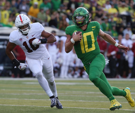 OREGON SPANKS STANFORD. COLLEGE SATURDAY GOES 4&1. NFL SUNDAY SALE & SOME TRENDS