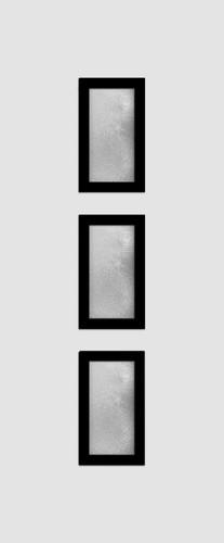 Friedberg Glas 3 csincsilla fekete minta
